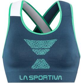 La Sportiva Focus - Brassière de sport Femme - bleu/turquoise